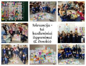 Tolerancijos diena Dzūkijos mokykloje